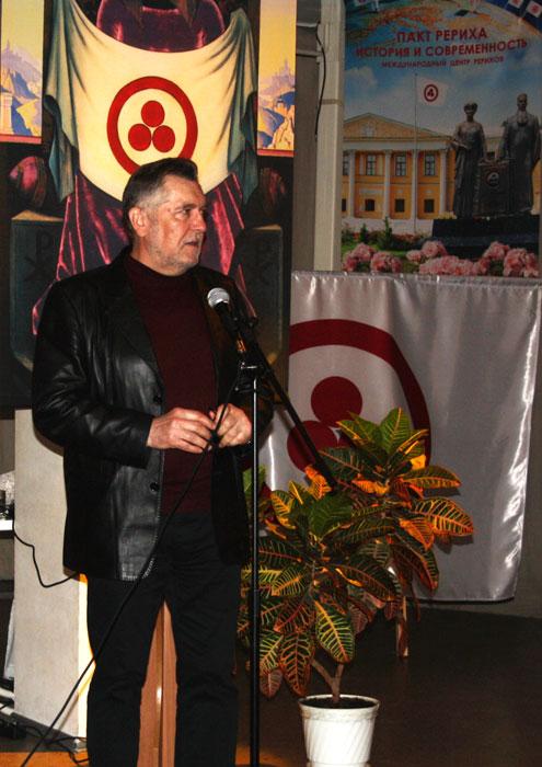Председатель Вологодского регионального отделения Союза художников Николай Мишуста