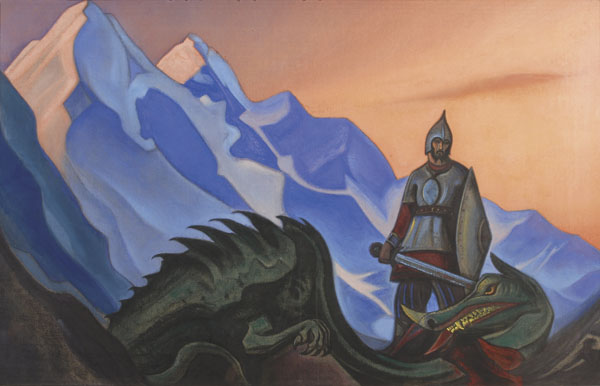 Картина Н.К.Рериха «Победа». 1942