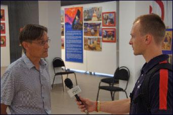 Интервью  Александра Богданова телеканалу «ГИС» Самара