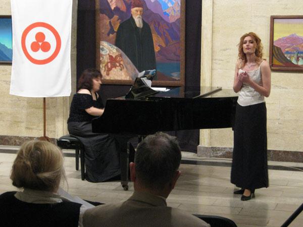вокальный концерт воспитанников Национальной музыкальной академии в зале имени Николая Рериха