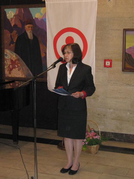 Директор Национальной галереи зарубежного искусства Ирина Мутафчиева