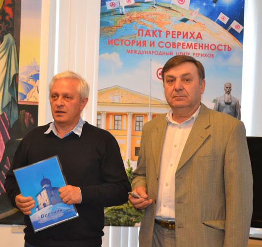 Яков Николаевич Глухов и Геннадий Алексеевич Руденко