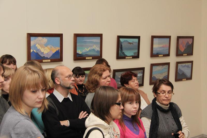 Выставка картин Н.К.Рериха и С.Н.Рериха «Весть Красоты» в Краеведческом музее городского округа Сызрань