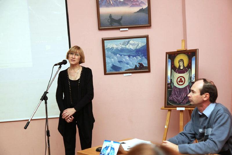 О.Л. Улемнова, зам. директора по научной работе музея изобразительных искусств РТ.