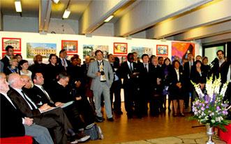 На торжественном открытии выставки «Пакт Рериха. История и современность» в ЮНЕСКО