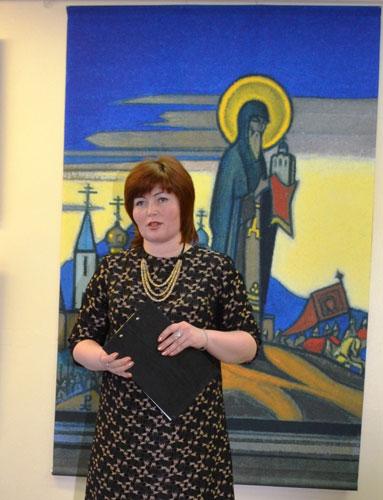 Директор музея детского изобразительного искусства народов Сибири и Дальнего Востока Олеся Александровна Дондерфер