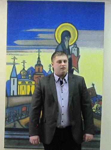 Начальник Управления культуры и кино Администрации города Юрги Павел Иванович Курилин