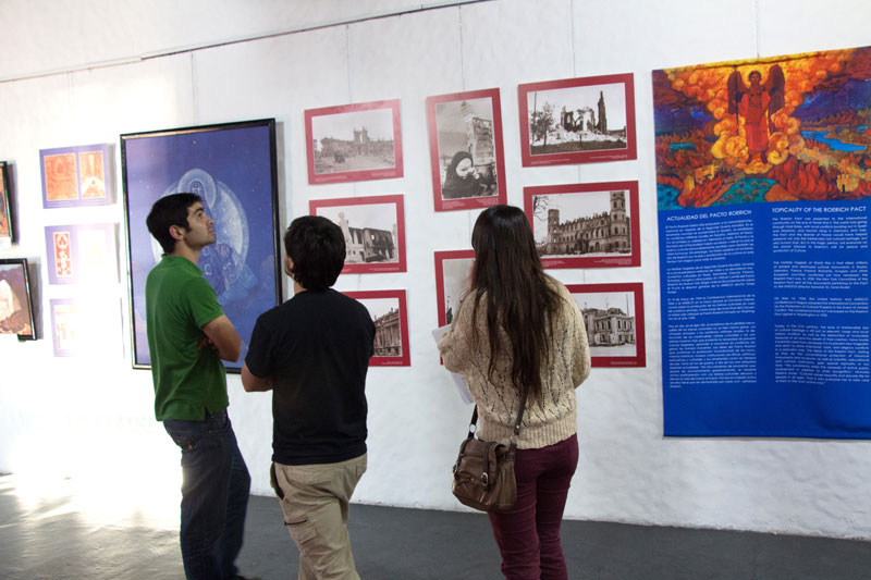 Выставка в Уругвае, Колония