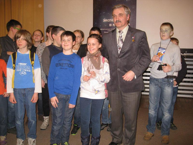 Участники встречи с А.Ю.Калери