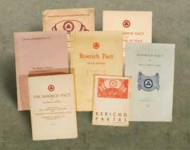 Издания, посвященные Пакту Рериха и Знамени Мира. 1932 - 1935