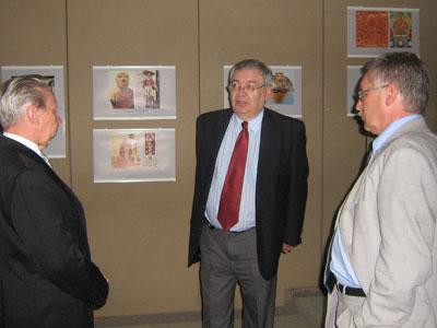 Посещение выставки МЦР послом РФ в Мексике В.И.Морозовым