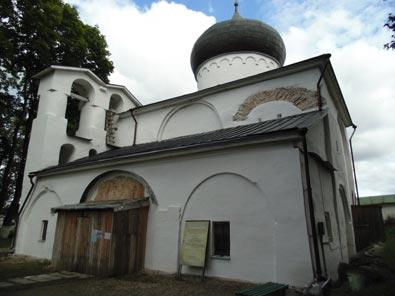 Спасо-Преображенский собор Мирожского монастыря, Псков
