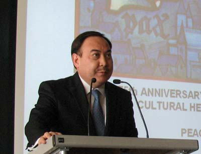 Посол Казахстана в Австрии, Представитель Казахстана при Международных Организациях в Вене Ержан Казыкханов
